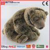Brinquedo macio Lifelike realístico do urso de Brown do animal En71 enchido