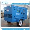 Compresseur d'air portatif entraîné par moteur diesel de vis d'air d'atlas diesel portatif du compresseur 22kw-336kw