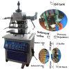 Troqueladora caliente de la presión hydráulica de Tam-320-H para la madera plástica de goma de cuero, papel
