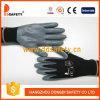 Nilón negro de Ddsafety 2017 con el guante gris del nitrilo