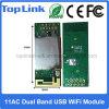 Realtek 802.11AC 듀얼-밴드 433Mbps USB에 의하여 끼워넣어지는 WiFi 모듈