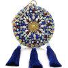 Bolsas coloridas luxuosas das mulheres dos sacos de embreagem do partido de noite das senhoras da forma nova com Tassels Leb931