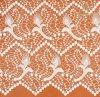 Tissu de lacet de crochet de Cheerslife 125cm 100%