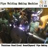 Nahtloses Edelstahl-Eisen-rundes quadratisches Rohr-Schweißen, das Maschine herstellt