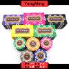 760 PCS Texas Holdem Art-/Clay-Aufkleber-Schürhaken-Chipset für spielendes Spiel (YM-MGBG003)