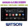 Witson 7  Grote Androïde 6.0 Auto van het Scherm DVD voor Toyota Universeel met het Korte Ontwerp van het Lichaam DVD