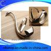 Nouvelle plate-forme de fourche en alliage de zinc Swan Shape