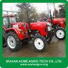 Trator de exploração agrícola das rodas 60HP do equipamento agrícola 4