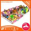 Matériel en plastique d'intérieur de cour de jeu de petits enfants commerciaux à vendre