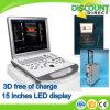 Лучшая цена ноутбука 3D цветового доплеровского ультразвукового аппарата