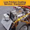 Compite con los motores de coches de baja fricción contra el desgaste Resistencia Sistema de recubrimiento duro equipo de pulverización Máquina / Servicios