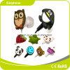 Fone de ouvido animal estereofónico da caixa do presente da forma com auscultadores da alta qualidade