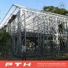 China prefabricó la casa de acero ligera del chalet como casa modular del edificio
