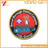 Kundenspezifische runde Form-Stickerei-Änderungen am Objektprogramm mit Firmenzeichen für Kleidung (YB-SM-17)
