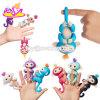 아이 W01A302를 위한 새로운 최신 5개의 색깔 전자 지능적인 접촉 대화식 핑거 원숭이 장난감