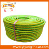 Boyau de jardin de bonne qualité de PVC de la Galilée, boyau flexible de l'eau