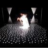 Diodo emissor de luz preto e branco Starlit Dance Floor Starlit de Dance Floor do estágio do clube