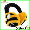 Plüsch Black und Yellow Bumble Bee Earmuff