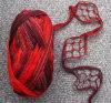 Fios Ruffle Fishnet acrílico
