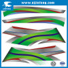 Décoration de bon marché OEM Fabrication moto Diecut 3D'autocollant en vinyle PVC