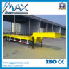 2 3 Radachsen Flatbed Semi Trailer mit Container Twist Lock und Side Wall Detachable