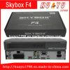 Función de Skybox F4 Pgrs WiFi del receptor basado en los satélites de HD