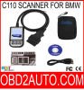 BMWのための創作者C110 Multi System OBD2 Scanner Tool V3.9
