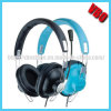 Cuffia del calcolatore Headphone/DJ di prezzi di fabbrica con il Mic ed il controllo di Vlume