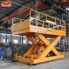 Plate-forme de levage hydraulique à ciseaux à vendre