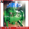Getto Steel Trunnion Ball Valve con Metal Seat