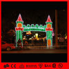Archway Light Christmas Decoration Rope Light de Huge do motivo do diodo emissor de luz de 6m