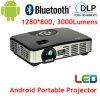 Самый новый репроектор 3000lumens WiFi Beamer СИД репроектора DLP Android портативный для дела, дома, портативного размера (MOV298A)