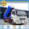Тележка нечистоты Cbm тележки 5 всасывания вакуума колес 125HP Dongfeng 6