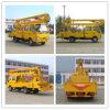 6 Wheels 16m Isuzu High Platform/Altitude Operation Truck
