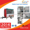 CE Certification Good Sale Mobile Vending Trailer con Wheels