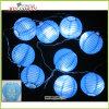 3 linterna de papel de iluminación de luz de cadena guirnalda de iluminación