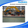 Pd90 Hydraulic Excavator Mounted Rock Drilling Rig pour Borehole Drilling