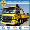 Gru resistente 8X4 di Auman sul camion 12 tonnellate della gru di prezzi del camion