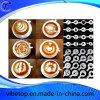 Café de acero inoxidable tire de la impresión de la flor del molde (CP-03)