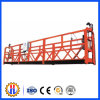 Plataforma de trabalho suspendida Zlp630 para construção de edifícios de alta elevação