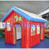 Tente gonflable géante de globe de neige/tente gonflable de Noël pour extérieur utilisé