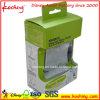 Boîte d'emballage personnalisée en carton imprimé avec manchon découpé
