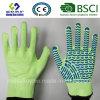 Разрежьте устойчив безопасность работы связано с покрытием из ПВХ перчатки защитные перчатки