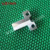 ブラケットによって機械で造られる部分のためのOEMによってカスタマイズされるアルミニウムCNCの機械化の部品