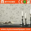 Papel pintado de papel puro del brillo para la decoración interior