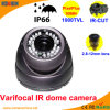 CCTV Camera di Varifocal IR Dome CMOS 1000tvl Wholesale