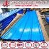 Hoja acanalada revestida del material para techos del color de Ral del panel de la azotea