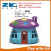 В грибкового типа пластиковой Хат для детей игровая площадка оборудование