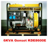 2kw 3kw 4kw 5kw 6kw Air Cooled Small Open Frame Diesel Generators Prices