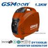 4 Tempos 1.2kVA 12V DC Gasolina Portátil Gerador do Inversor de Energia Portátil